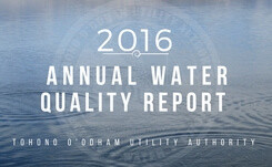 Water Quality Report 2016