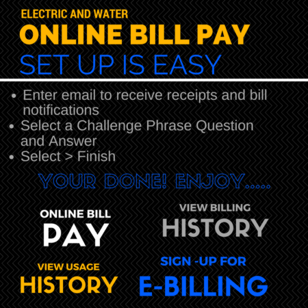 Electric & Water Online Bill Pay - Tohono O'odham Utility