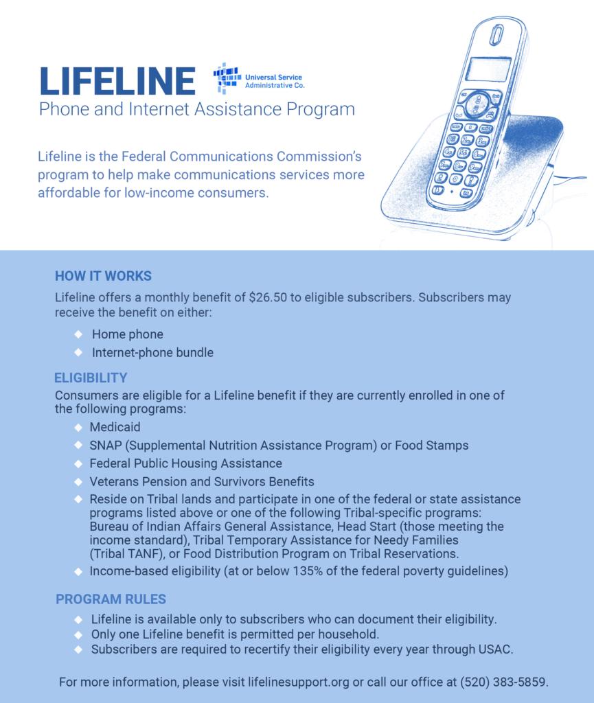 Lifeline - Tohono O'odham Utility